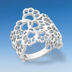 Aparter Designer Ring aus Pfoten