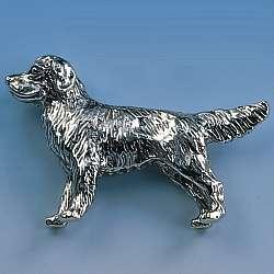 brosche golden retriever tierschmuck geschenke f r hunde. Black Bedroom Furniture Sets. Home Design Ideas
