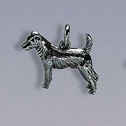 Charm-Anhänger Hund Jack Russell-Terrier