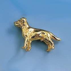 Revers-Stecker Labrador-Retriever