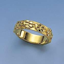 Ring glatt mit aufgesetzten umlaufenden Hundepfoten