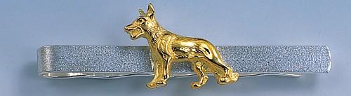 Krawattenclip Schäferhund