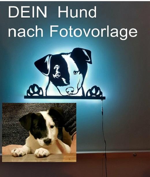 Ihr-Hunde-Foto-3D-Wandbild-aus-Holz-mit-LED-Leuchte3