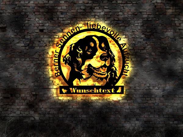 Berner-Sennenhund-3D-Wandbild_2